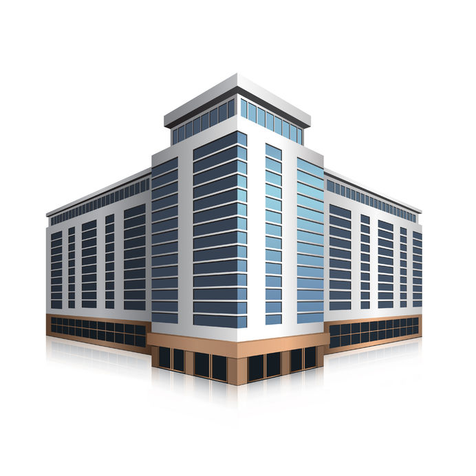headquarters clipart business center