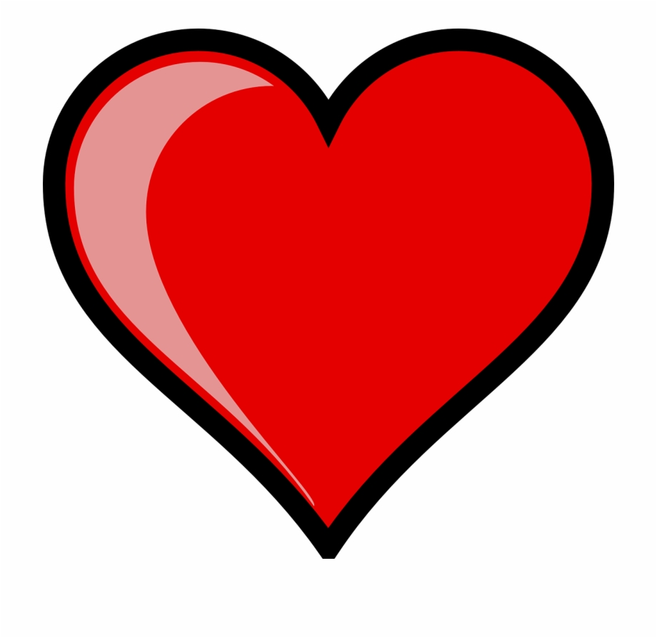 Heart clipart pictures.