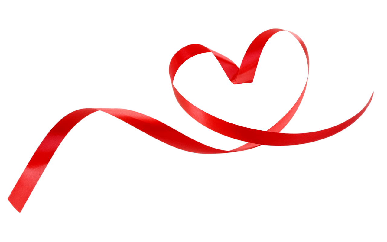Hearts clipart ribbon.