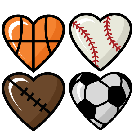 Hearts clipart soccer.