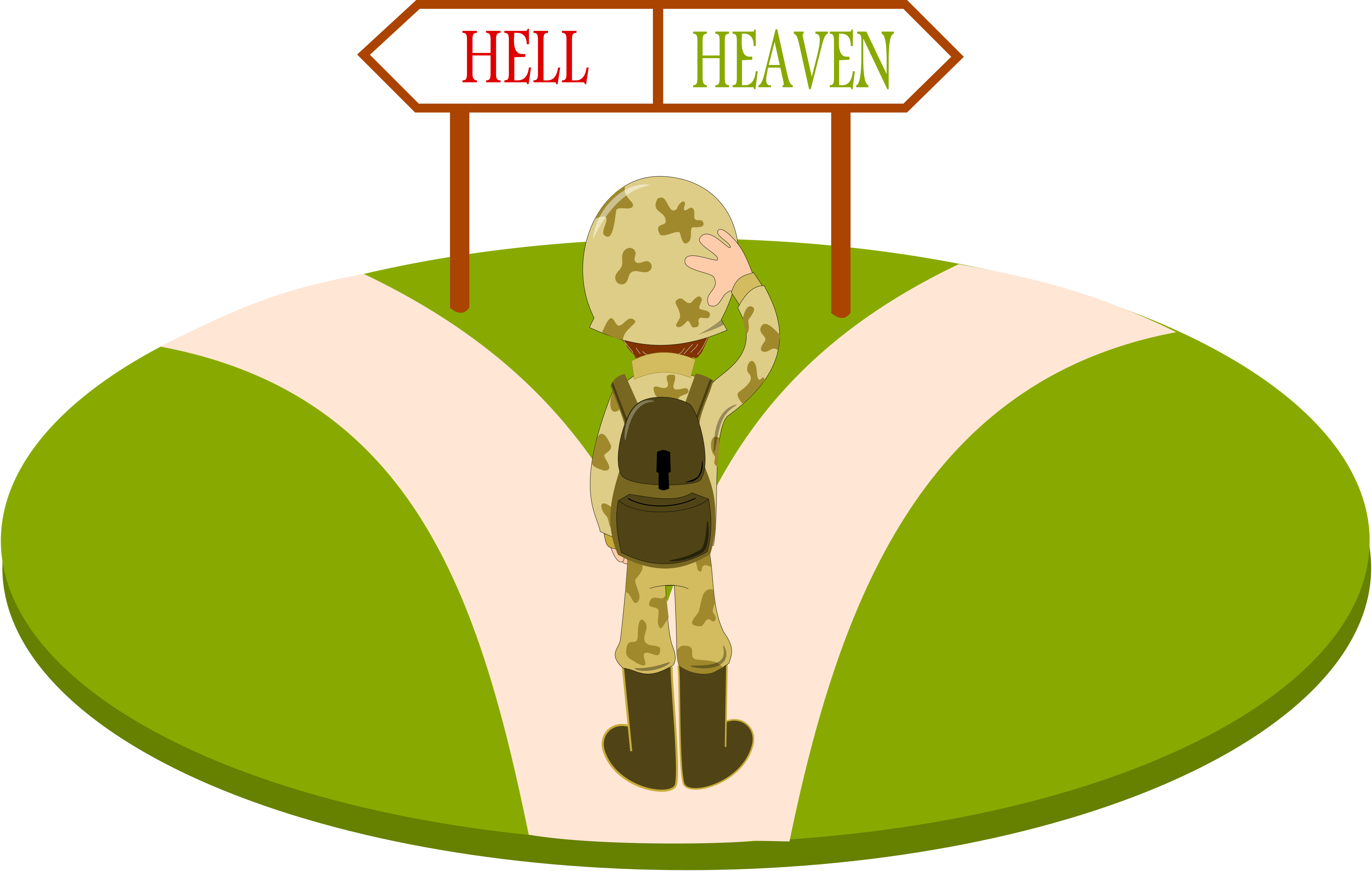 Heaven clipart afterlife.