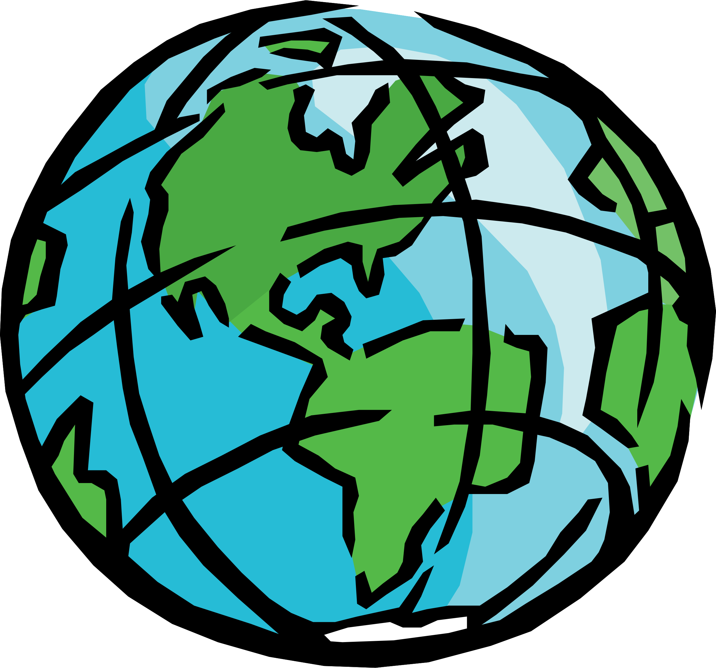 Heaven clipart drawing earth.