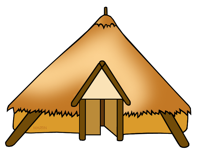 celts clipart house