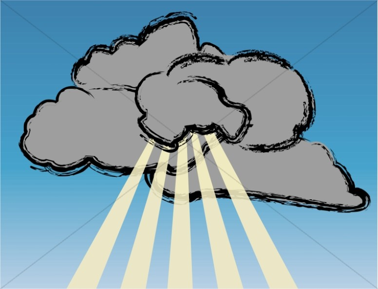 lighting clipart cloud