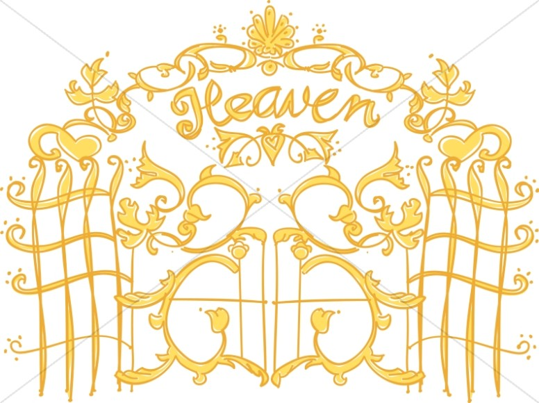 Heaven clipart promised land.