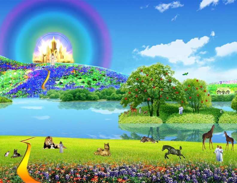 Heaven clipart river life.