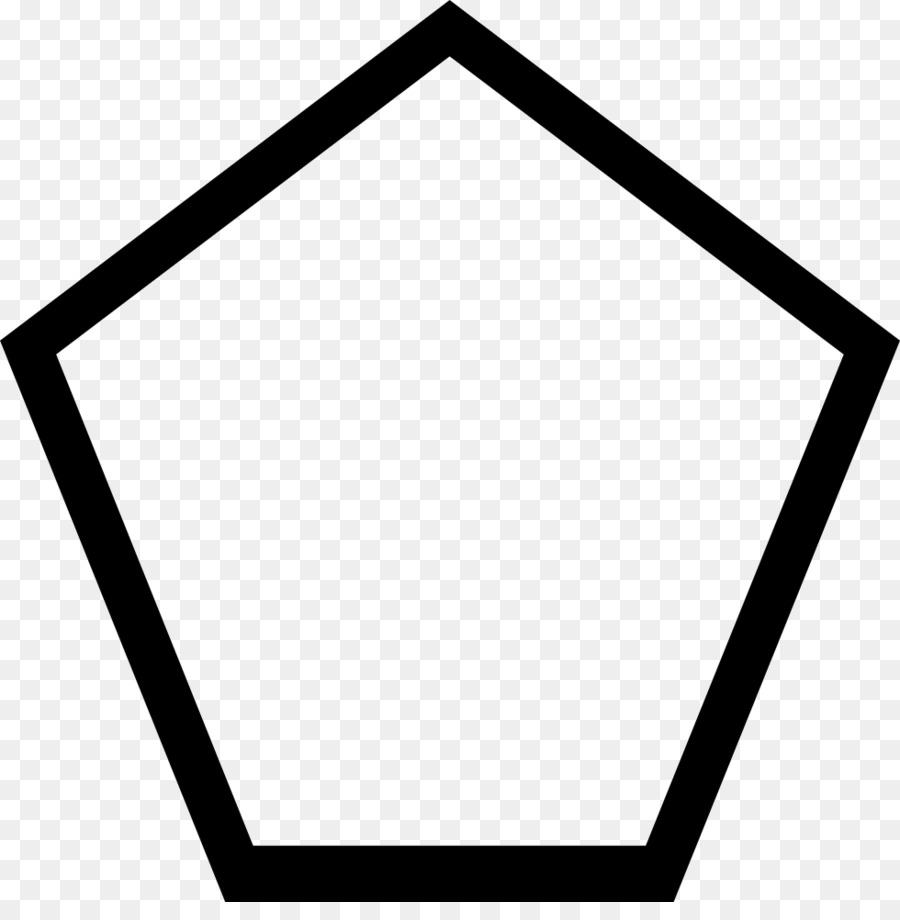 Pentagons clipart hexagon frame.