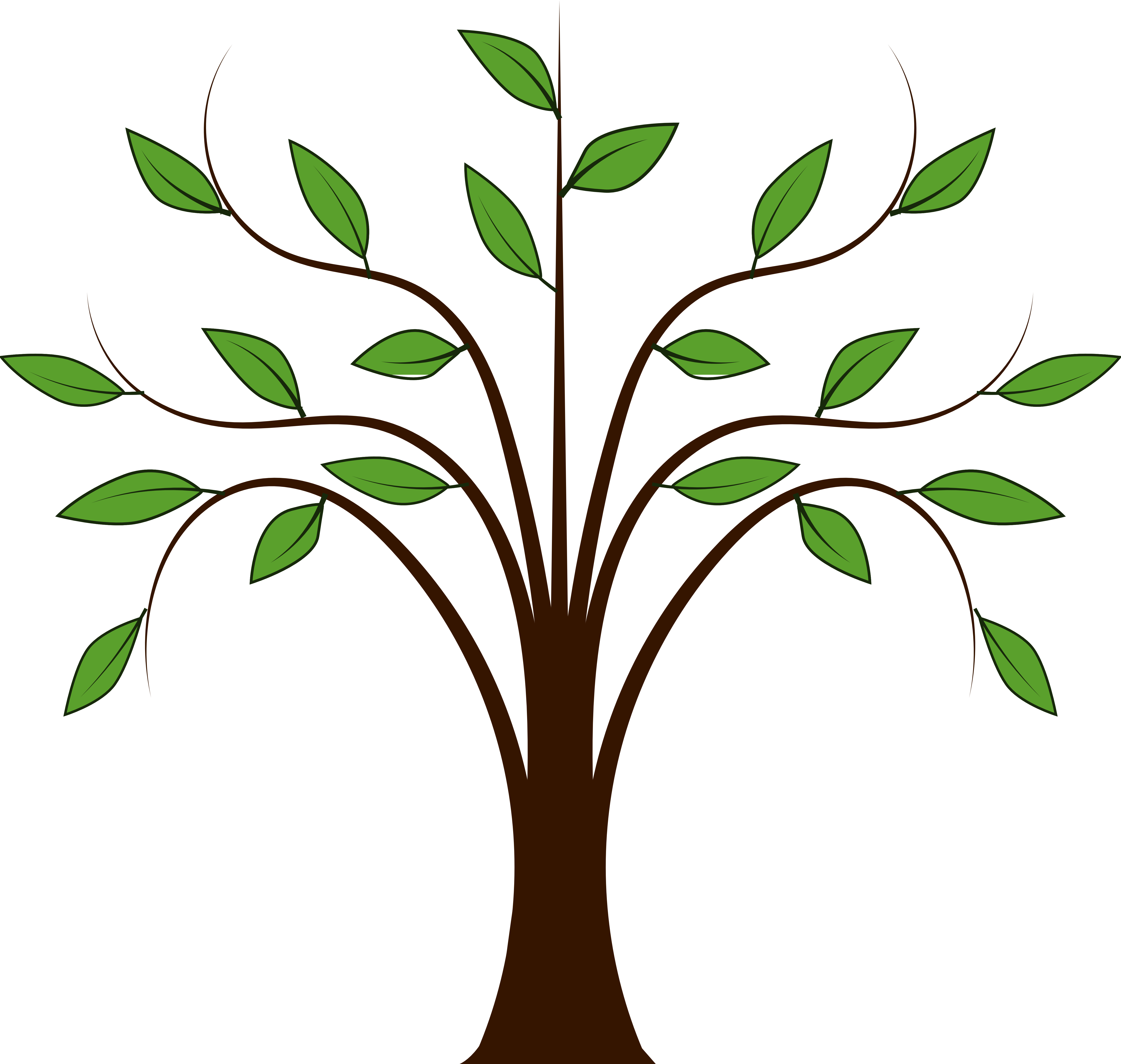 free tree clipart vector