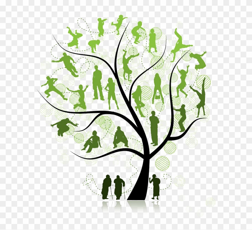 free tree clipart family reunion
