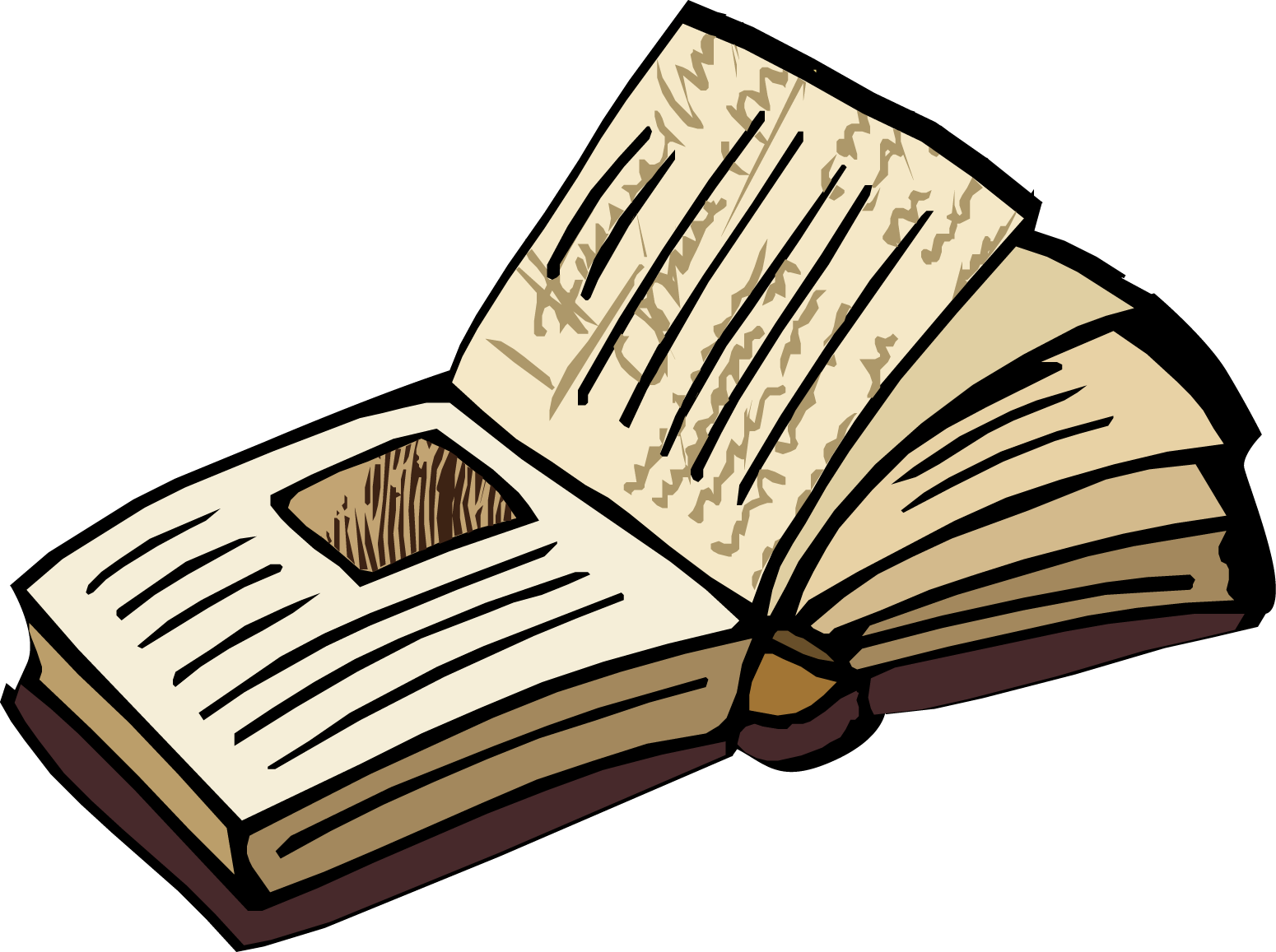 books clipart old