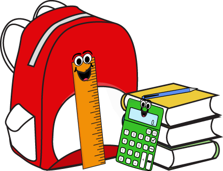 backpack clipart elementary school