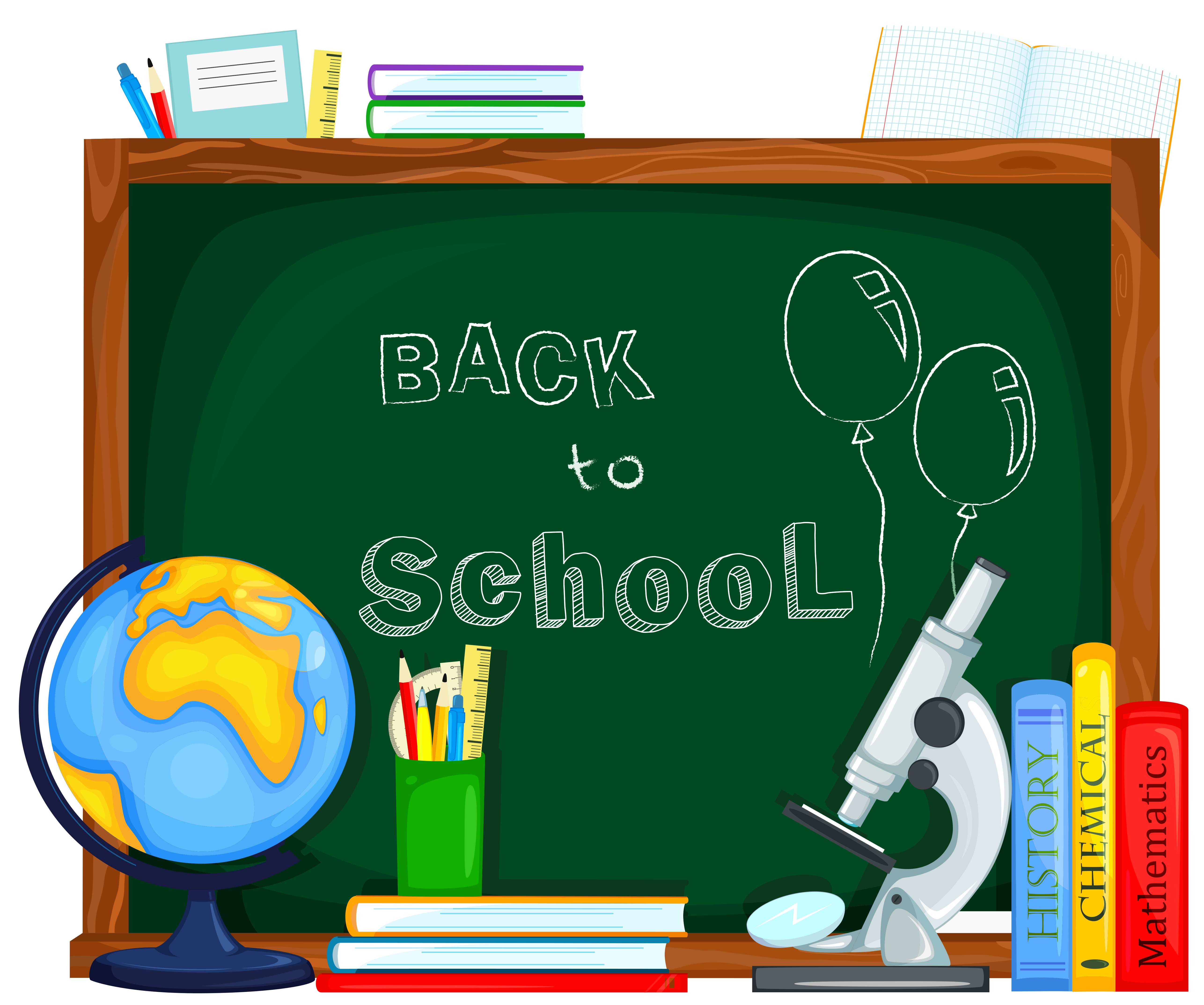 high school clipart back to