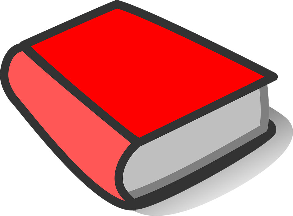 Thickened clipart big book.