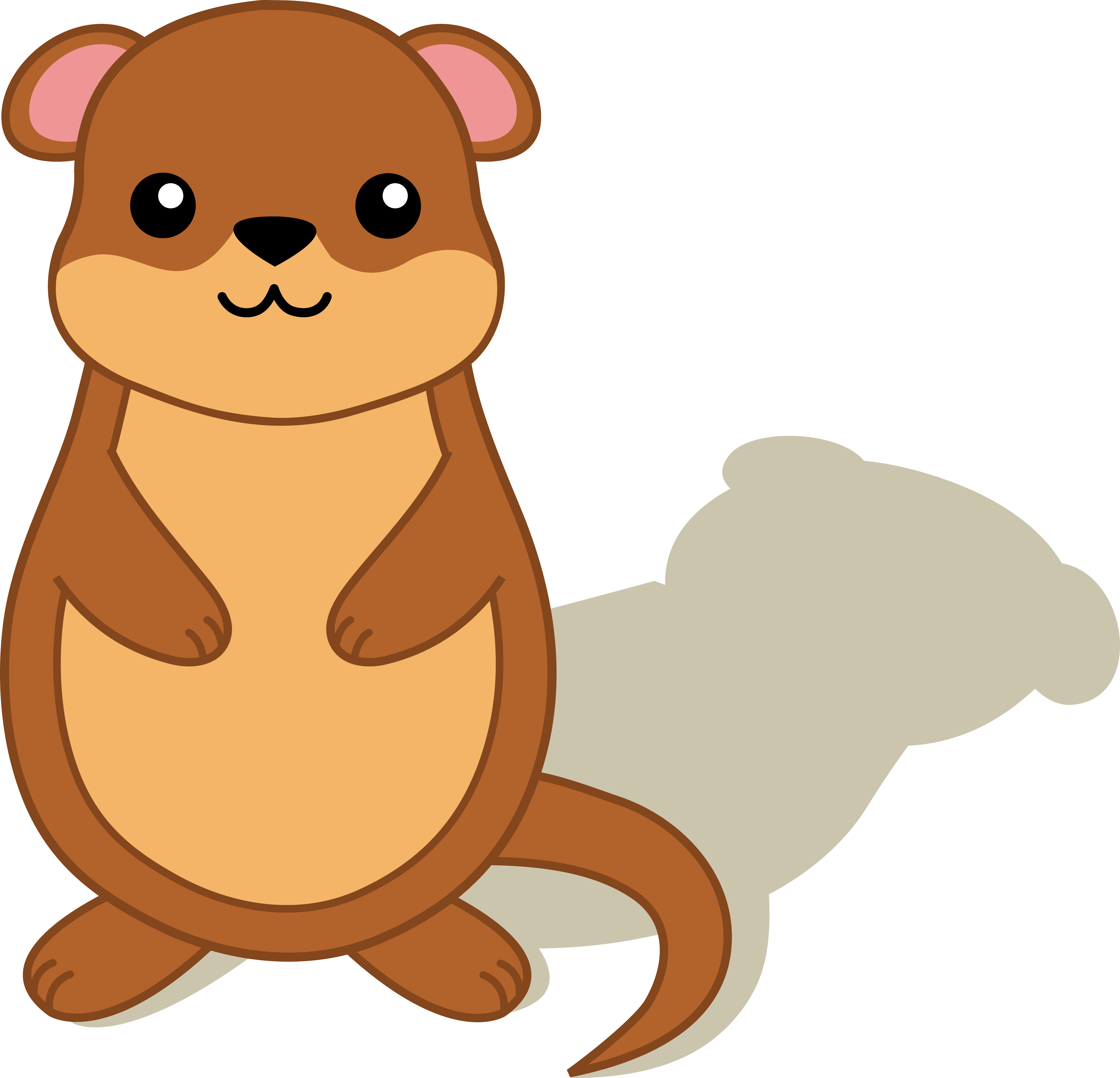 groundhog day clipart cute