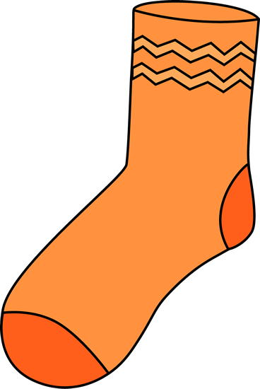 sock clipart single