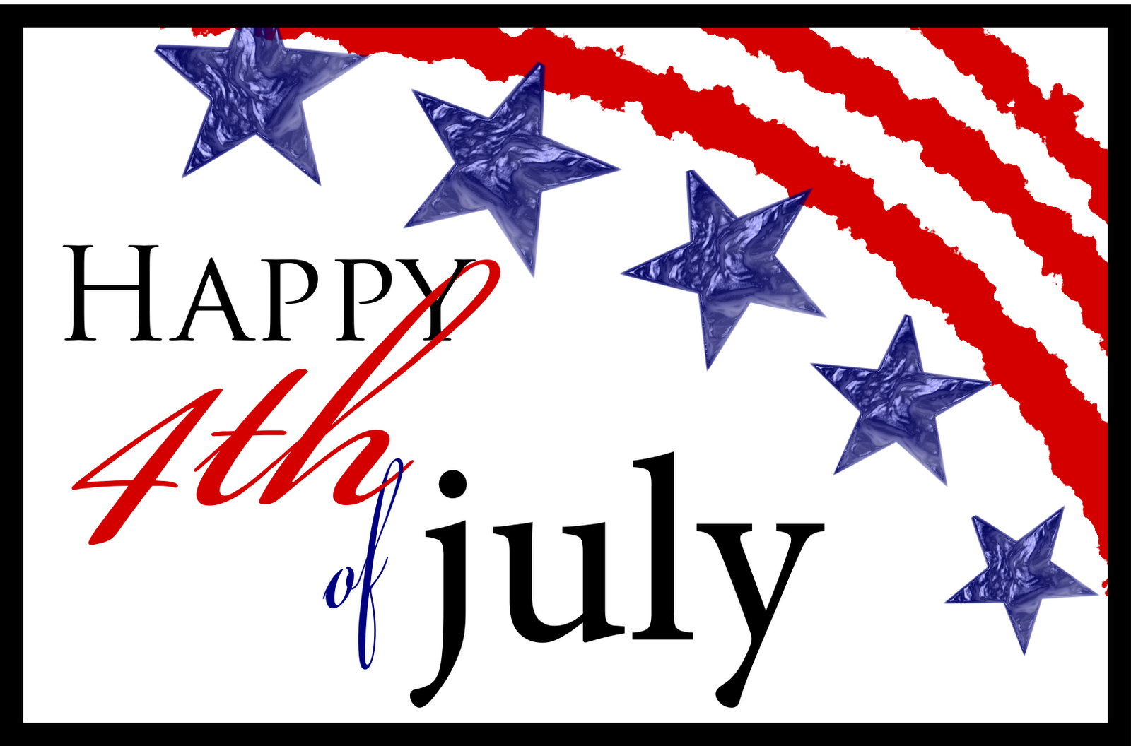happy 4th of july clipart wallpaper