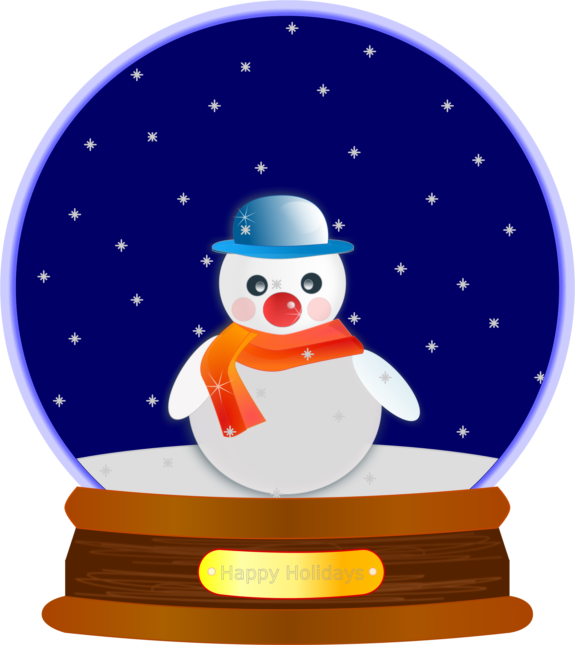 winter clipart animated