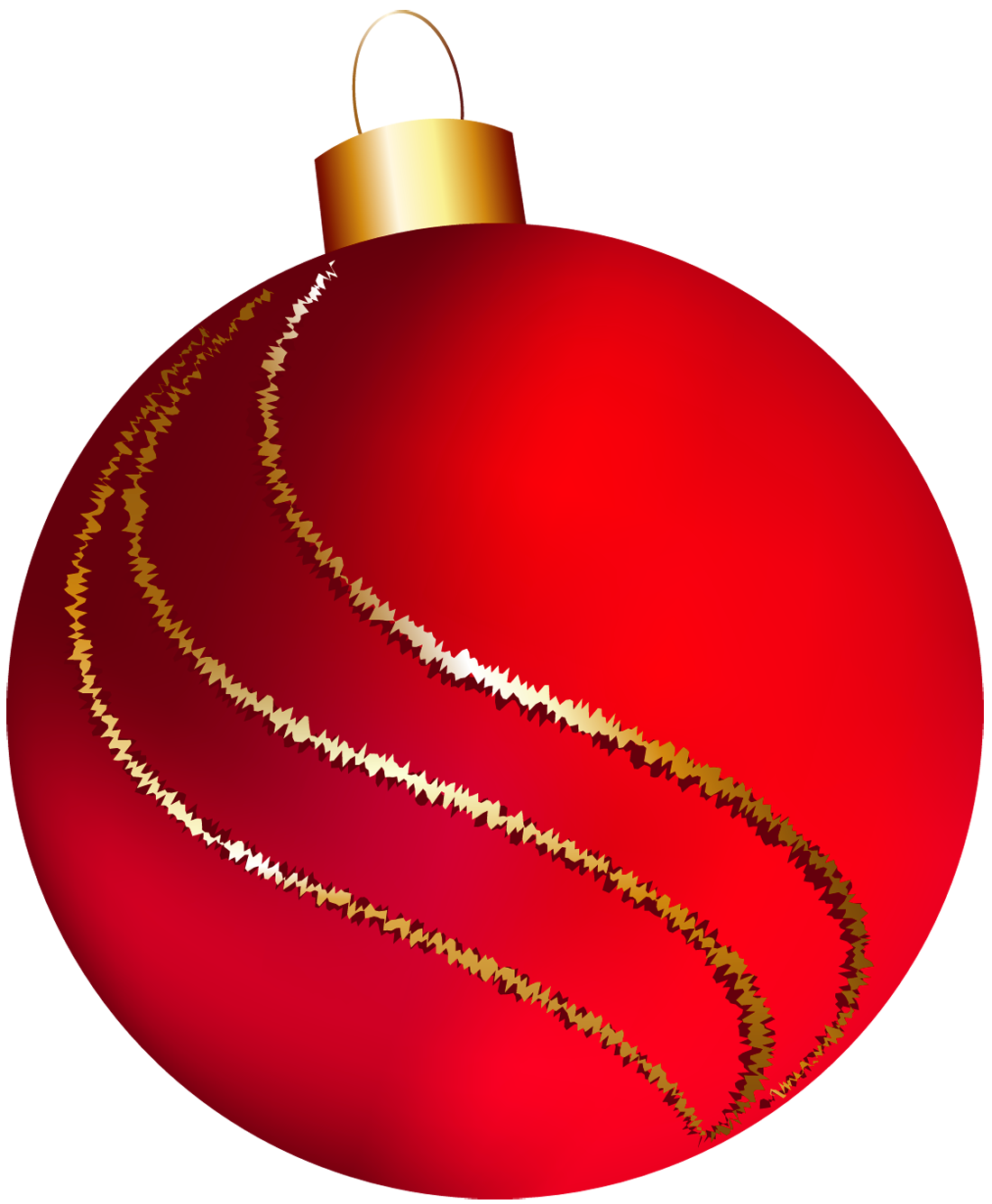 ornaments clipart red