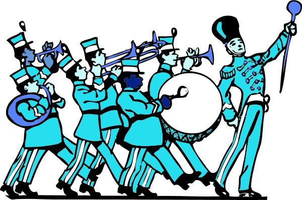 parade clipart marching band