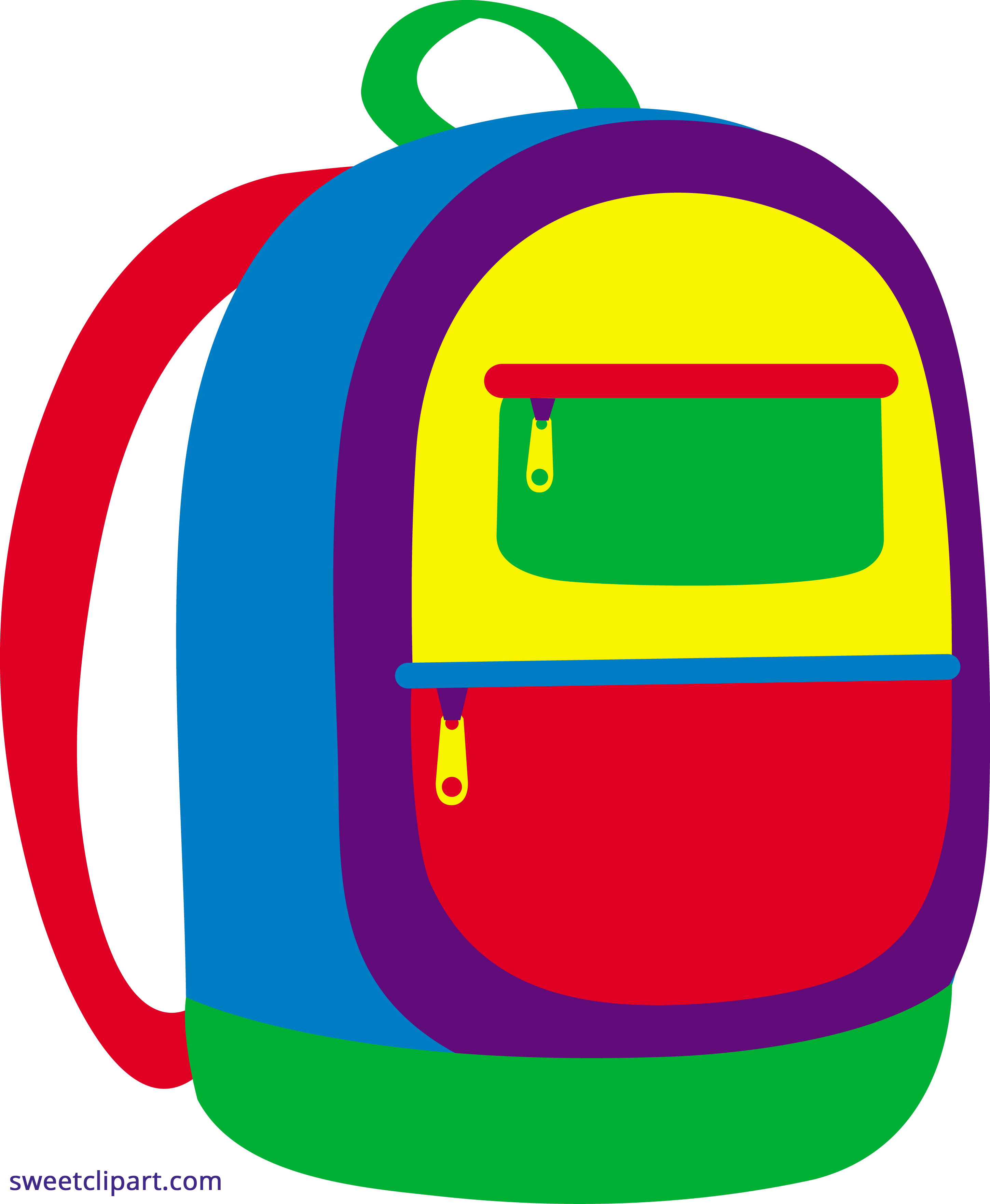 backpack clipart laptop