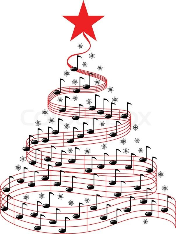 orchestra clipart christmas