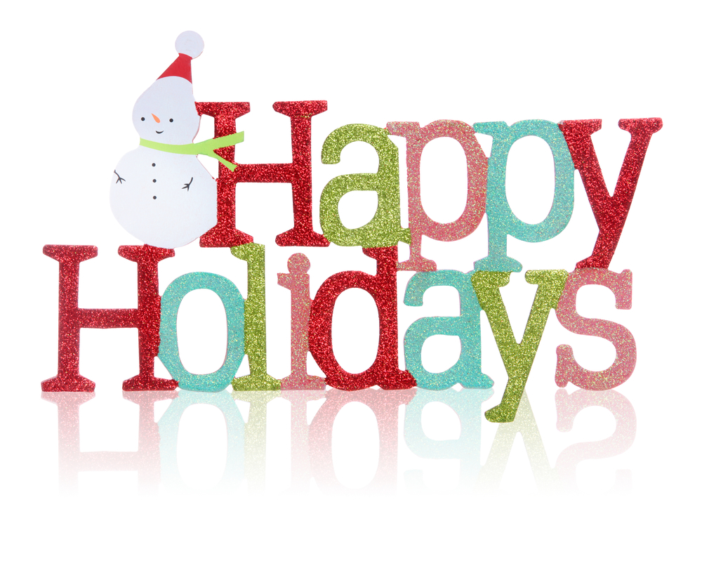 happy holidays clipart merry christmas