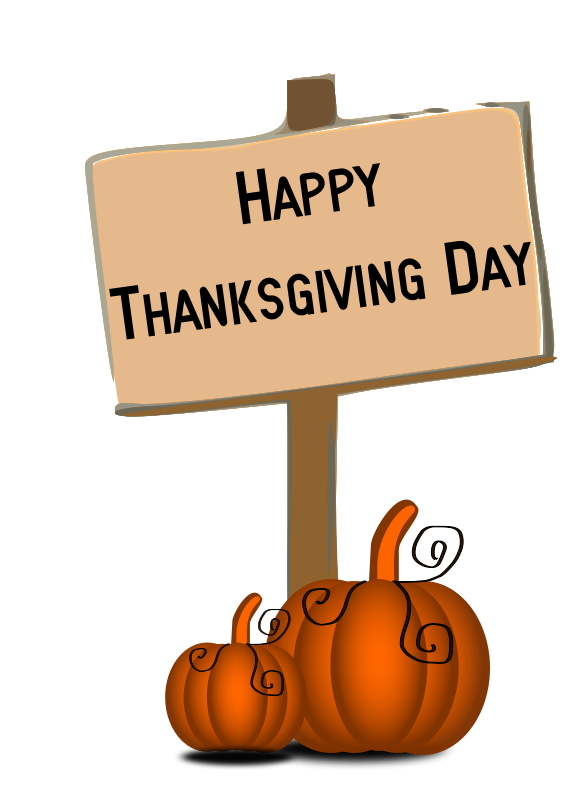 thanksgiving images clipart closed