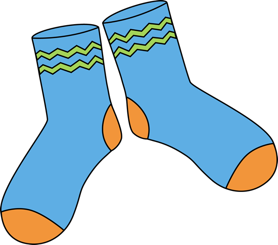 sock clipart cartoon