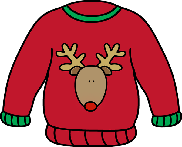 ugly christmas sweater clipart grinch