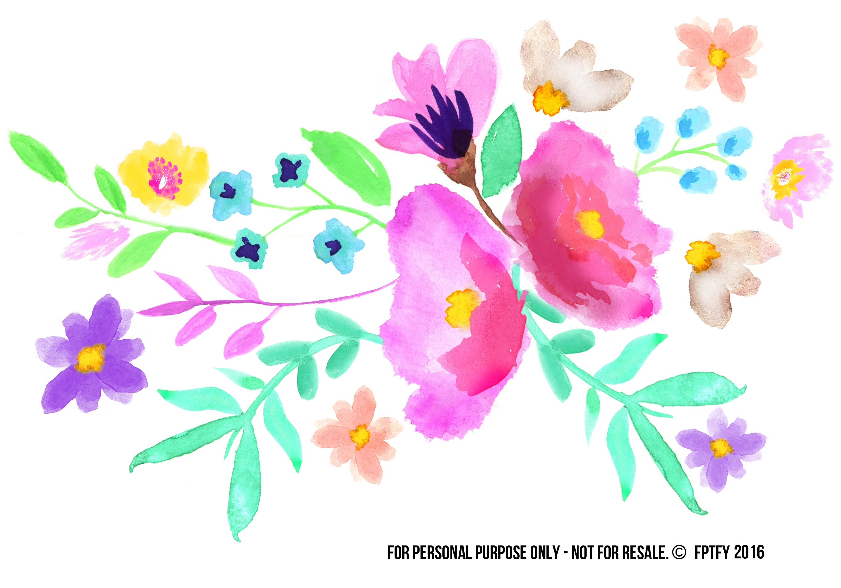welcome clipart watercolor