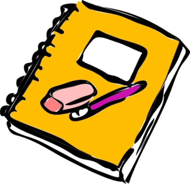 paper and pencil clipart eraser