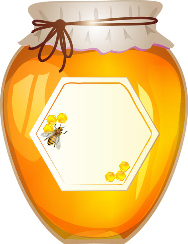 jar clipart honey