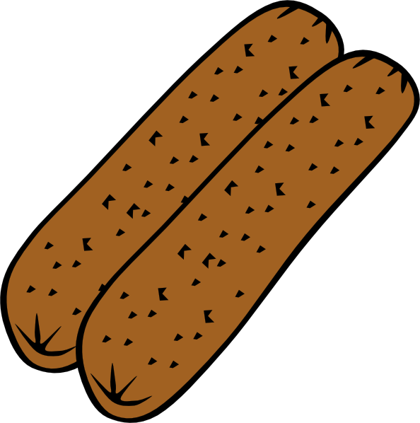 sausage clipart patty