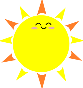 sunshine clipart clear background