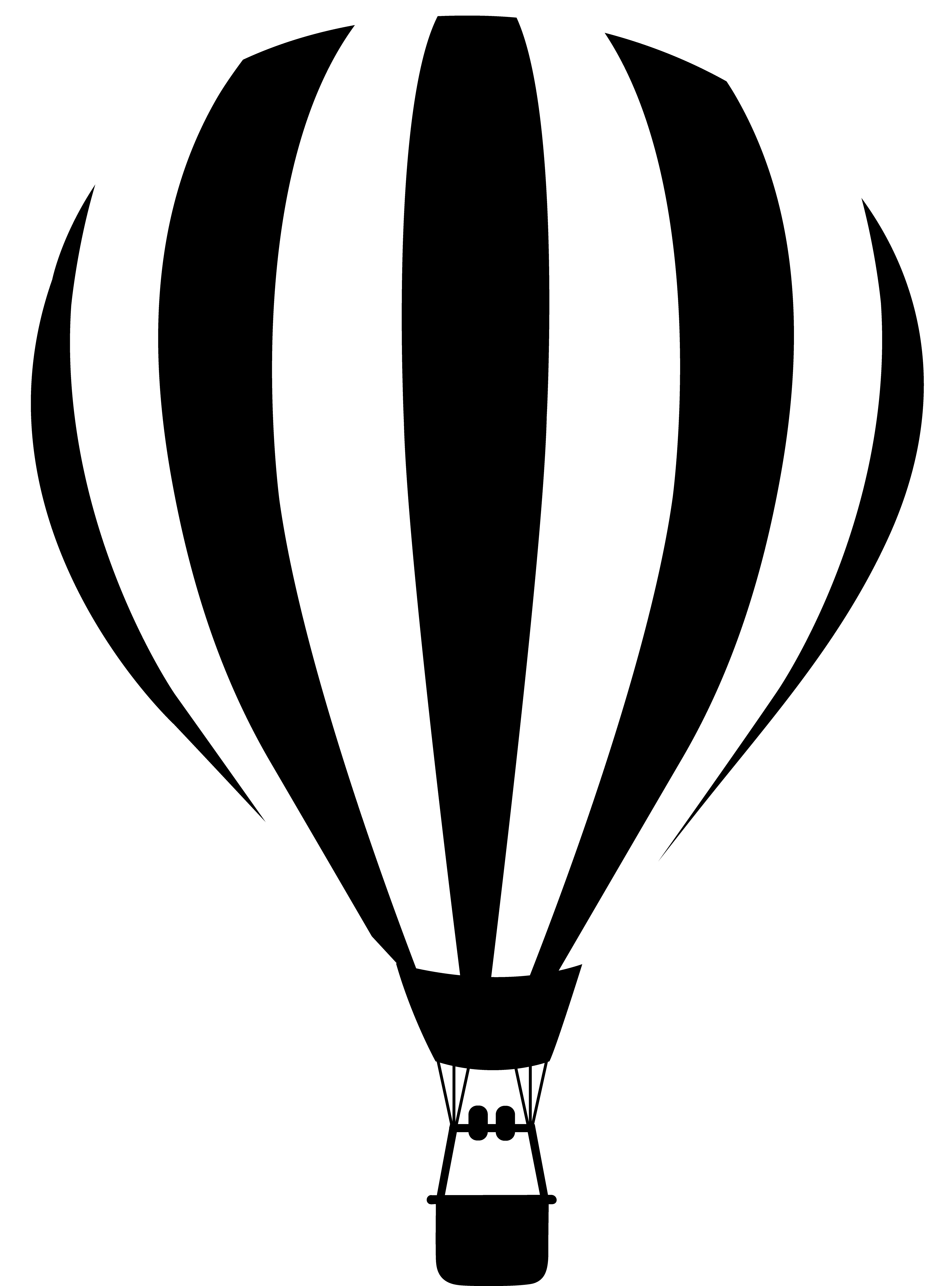 Balloon clipart sketch.