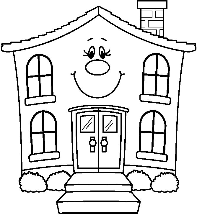 House clipart number.