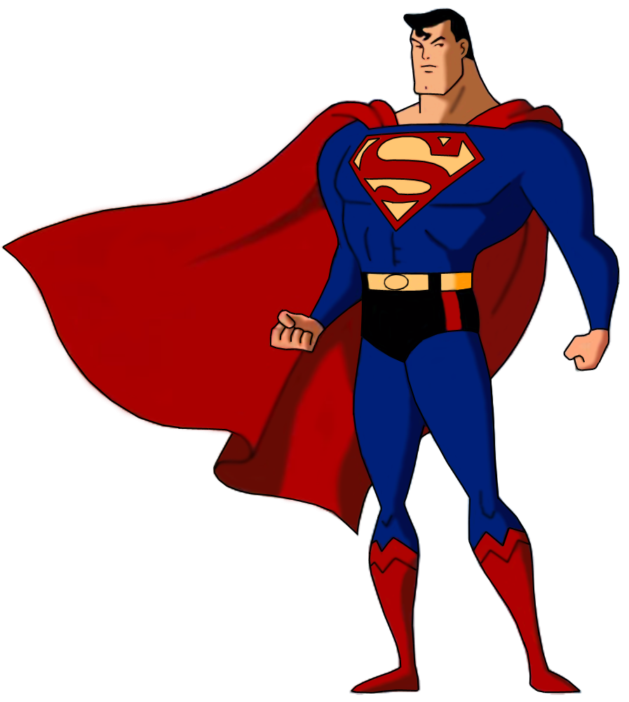 Superheroes clipart superman superwoman.