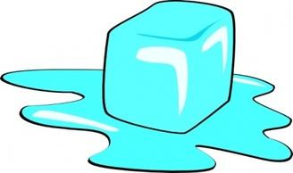 ice cube clipart solid