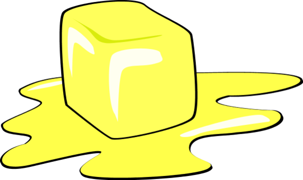 butter clipart animated