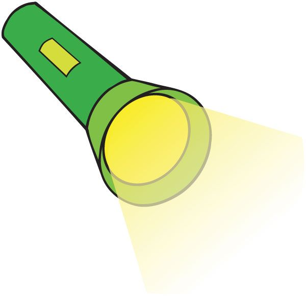 Lighthouse clipart torch.