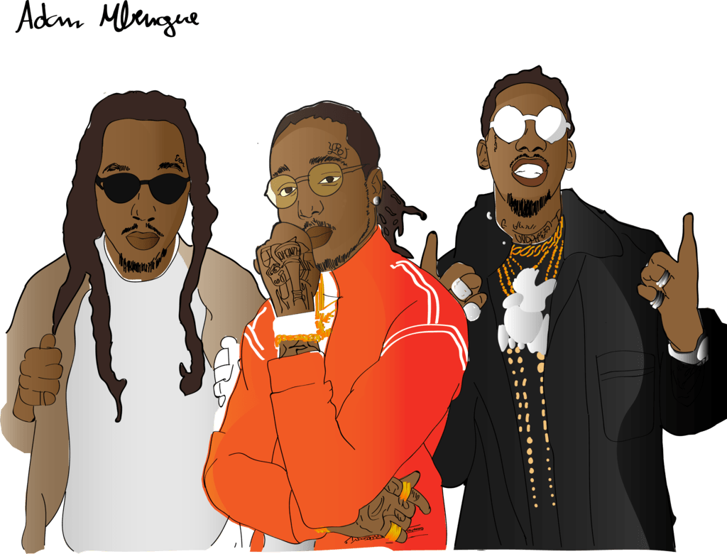 Incoherency clipart migos drawing.