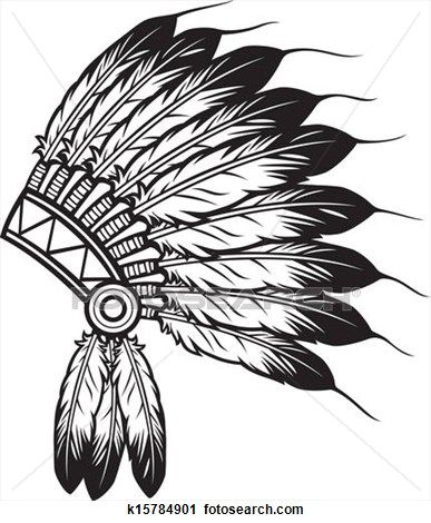 native american clipart simple