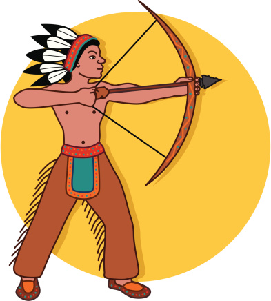 bow and arrow clipart hunting