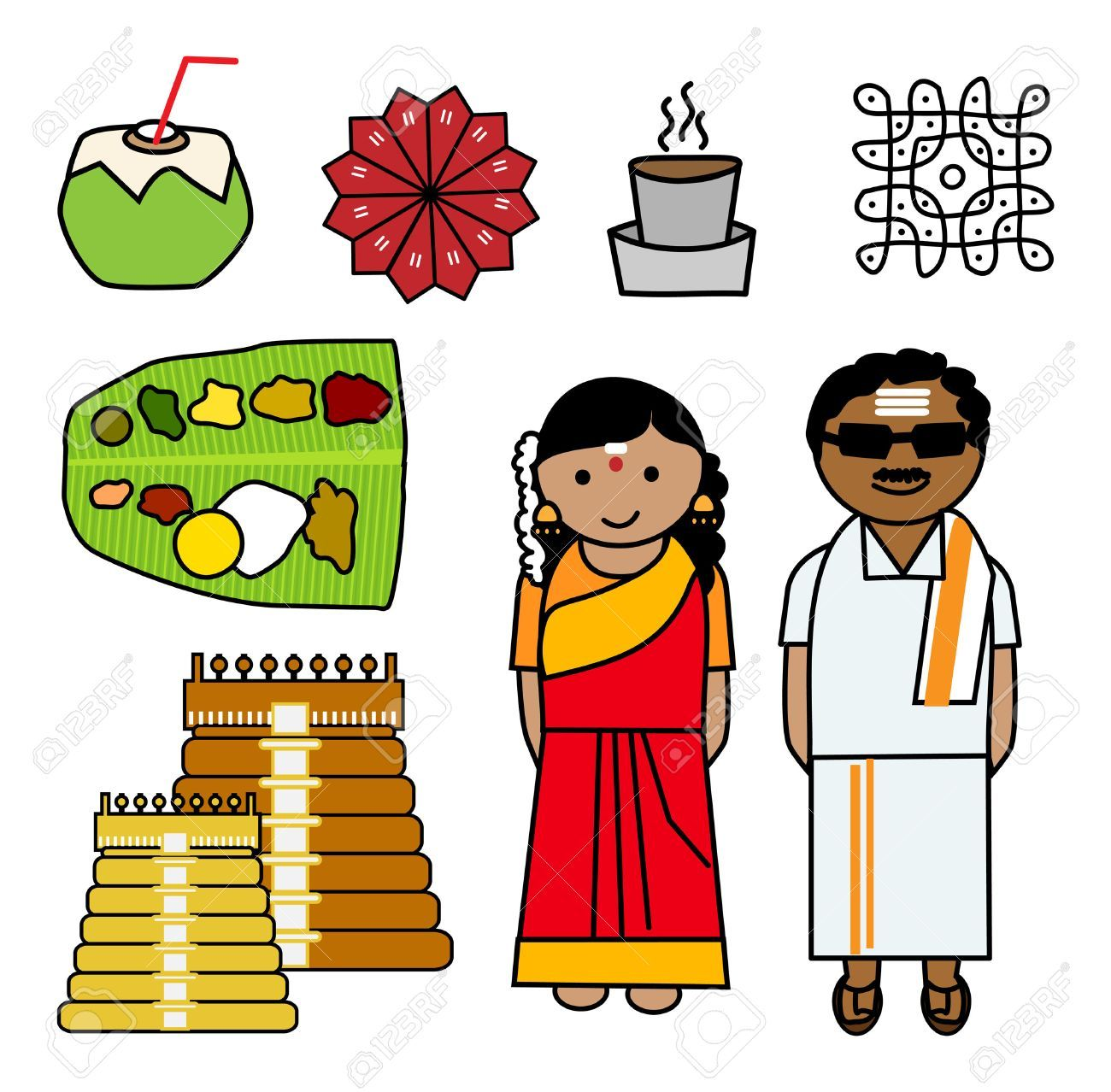 Indians clipart south.