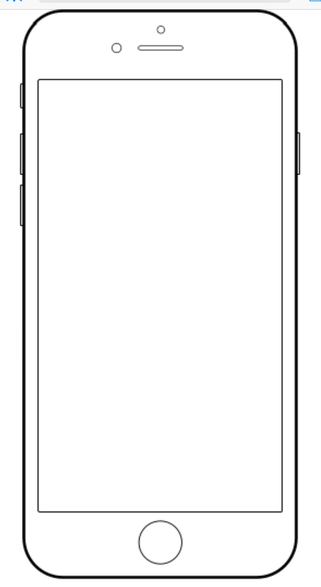 Iphone clipart 6.