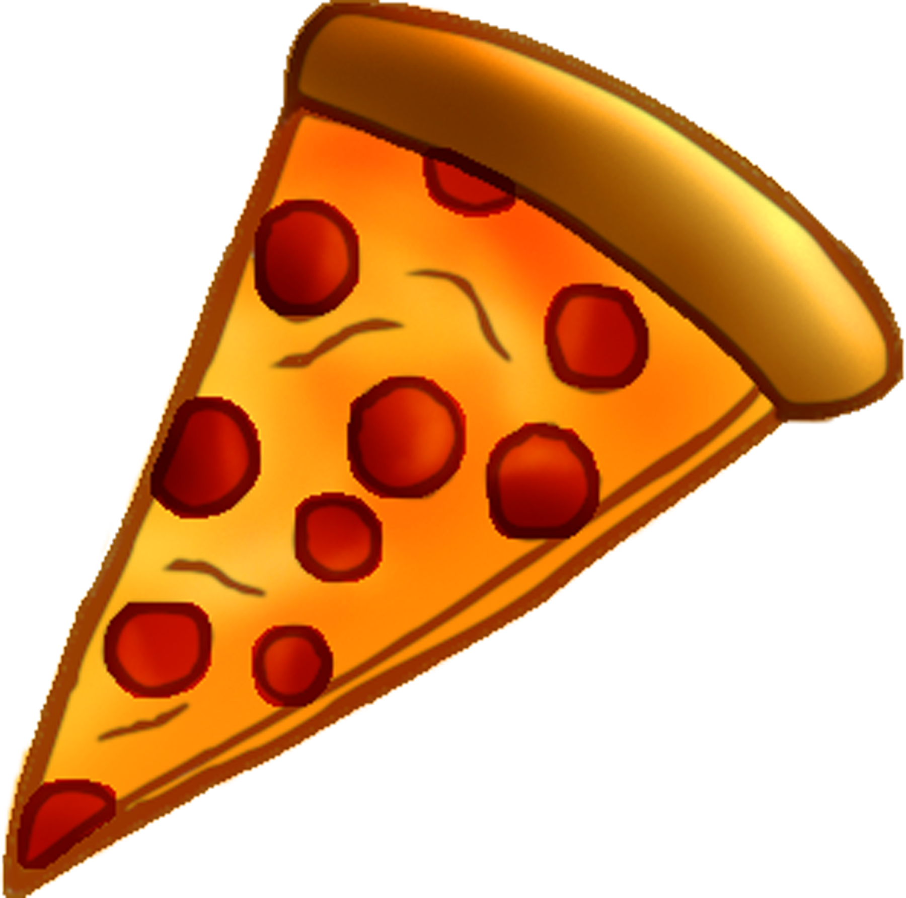 pizza slice clipart cheese