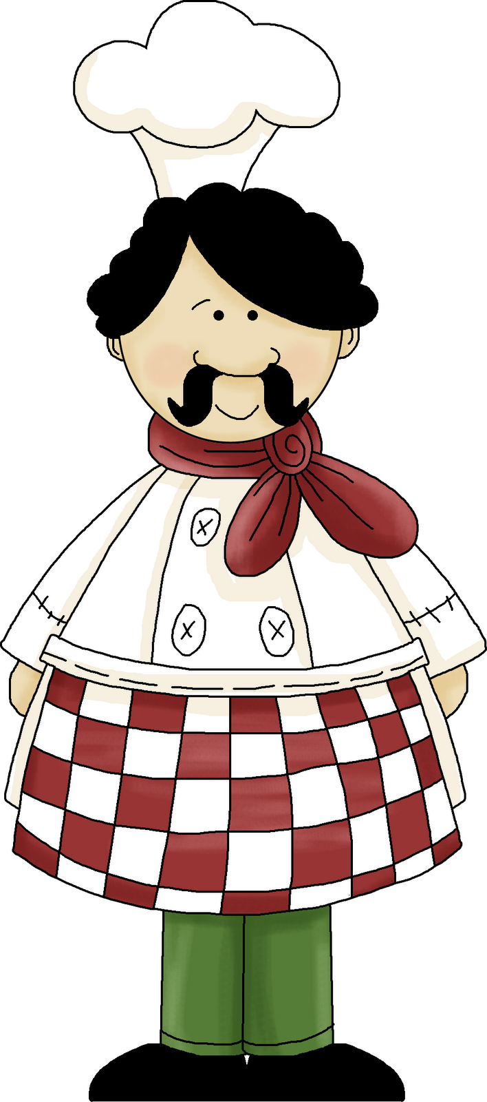 italian clipart professional chef