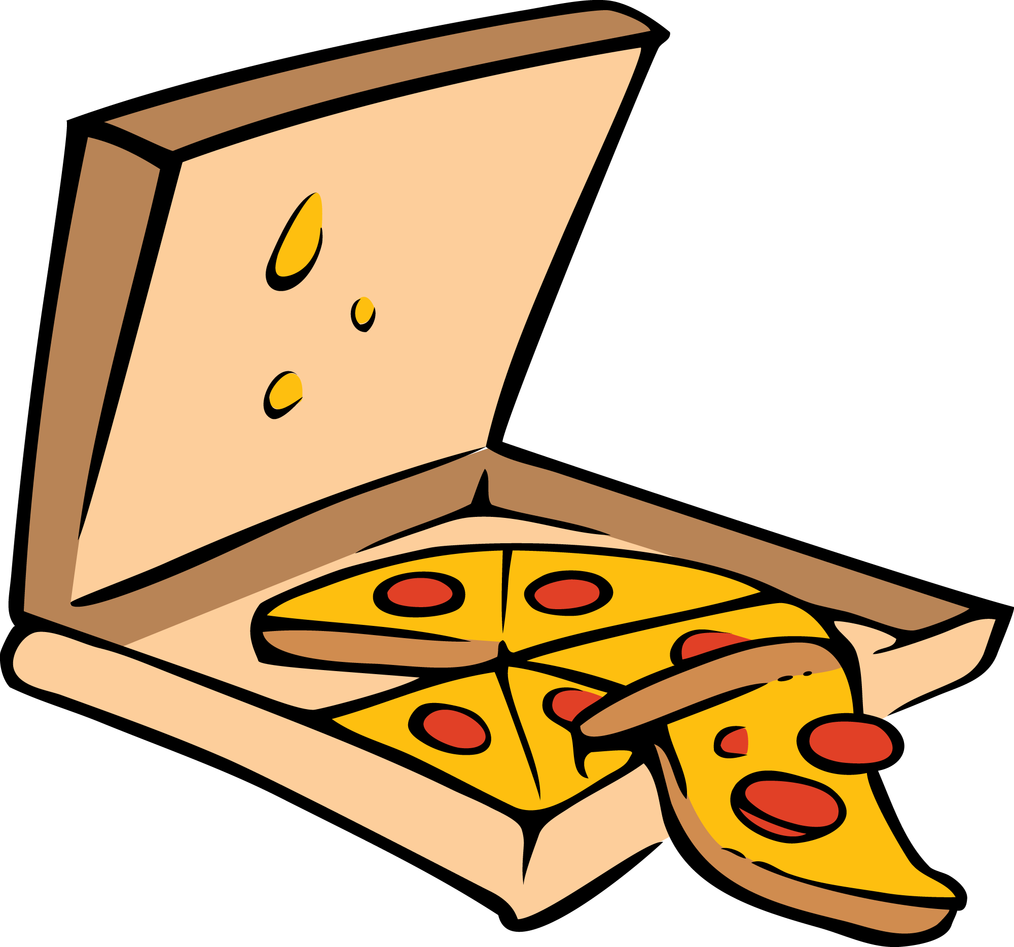 pizza clipart cartoon