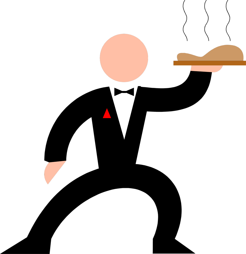 waiters clipart royalty free