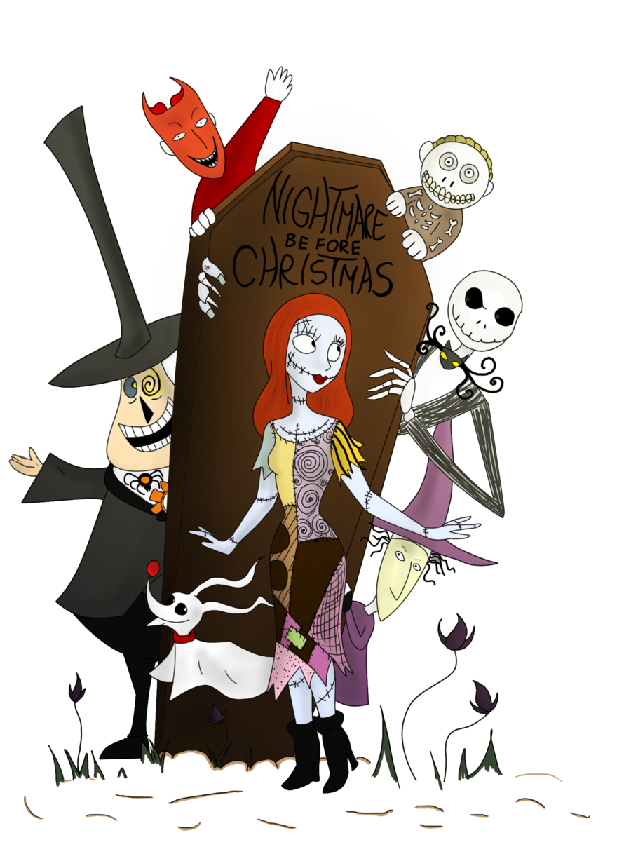 Jack clipart sally nightmare before christmas.